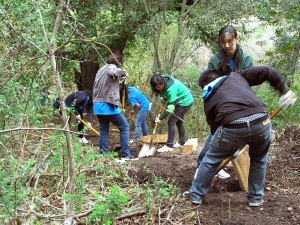 U.C. Berkeley Students Work the Land
