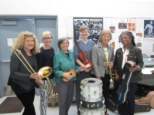 Spring into Music Women with Instruments